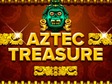 Автомат Вулкан Aztec Treasure на деньги