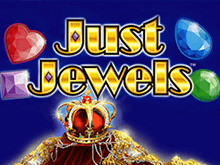 Игровой автомат Just-Jewels в казино Вулкан