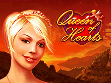Игровой автомат Queen of Hearts в казино Вулкан