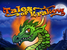Игровой автомат Tales Of Krakow в казино Вулкан