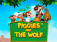 Piggies And The Wolf в Вулкане